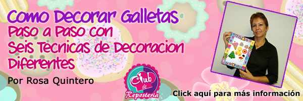 Curso Como Decorar Galletas